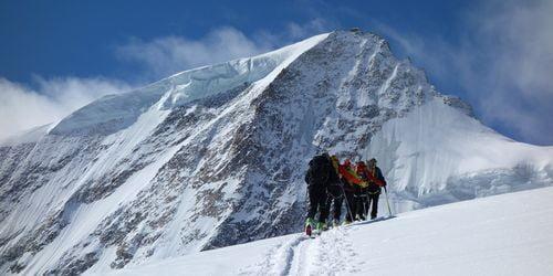 Raid à ski dans l'Oberland Bernois