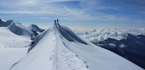 Ascension du Breithorn, Castor ou Pollux