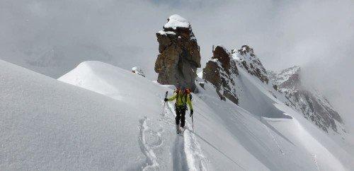 Tour du Grand Paradis à ski
