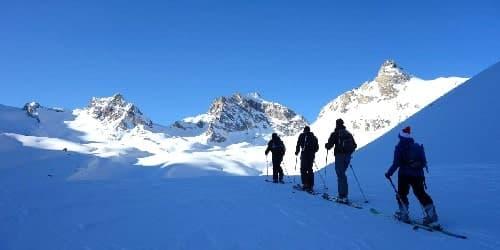 Raids à skis dans le Val de Rhêmes