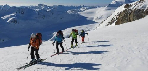 Raid à ski dans les Alpes Tessinoises : le Val Formazza