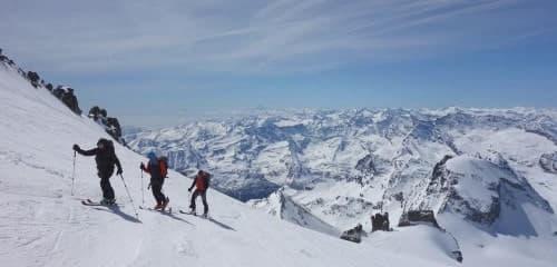 Raid à ski au Grand Paradis