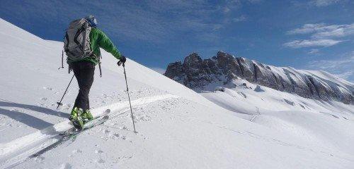 Ski de randonnée aux Contamines