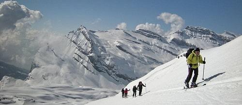 Raid à ski dans le Wildtrubel