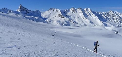 Raid à skis sur les hauts sommets du Queyras