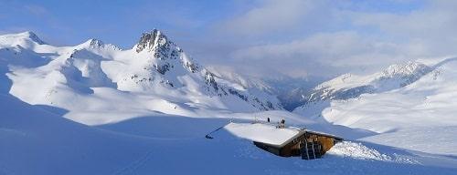 Ski de rando en étoile au Mont-Thabor