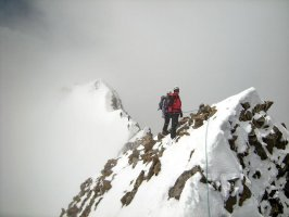 Photos d'alpinisme en Bernina