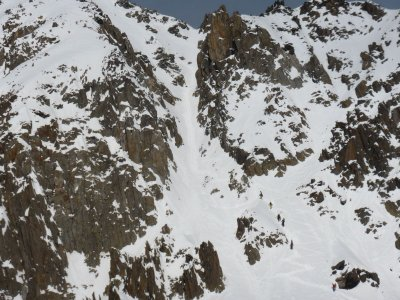 Le couloir du col du Passon