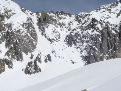 Couloir du col du Passon