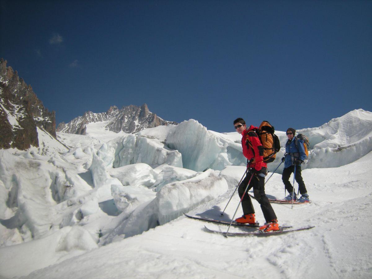 les grands glaciers chamonix